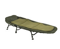 Camp bed Stock Photography
