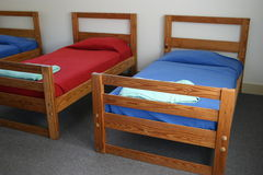 Camp Beds Royalty Free Stock Images