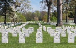 Camp Butler National Cemetery Stock Photo