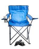 Camp chair. Stock Images