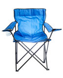 Camp chair. Stock Photos