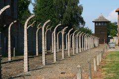 Camp d'Auschwitz Photo libre de droits