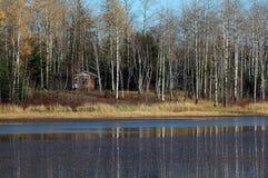 Camp de chasse Photographie stock libre de droits