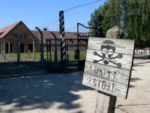 Camp de concentration Images libres de droits