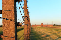 Camp de concentration d'Auschwitz-Birkenau Image stock