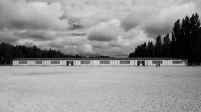 Camp de concentration de Dachau Photographie stock libre de droits