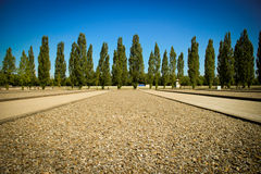 Camp de concentration de Dachau Photo stock