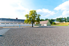 Camp de concentration de Ravensbruck images libres de droits