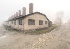 Camp de concentration nazi Auschwitz I photographie stock