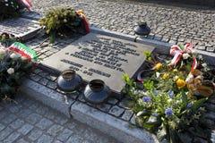 Camp de concentration nazi de Birkenau - Pologne Photos libres de droits