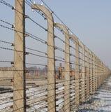 Camp de concentration nazi de Birkenau - Pologne Image libre de droits