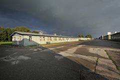 Camp de concentration WW2 Mauthausen Photo stock