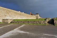 Camp de concentration WW2 Mauthausen Photos stock
