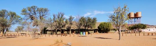 Camp de désert dans Namib Photos stock
