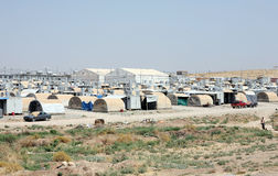 Camp de Kabarto IDP Photos libres de droits