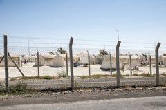 Camp de réfugié pour les personnes syriennes en Turquie 7 septembre 2017 Suruc, Turquie Image stock