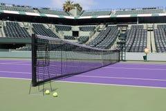 Camp de tennis Images libres de droits