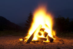 Free Camp Fire Stock Photography - 20491712