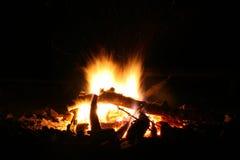 Camp-fire Royalty-vrije Stock Foto's