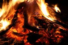 camp fire Στοκ Εικόνα