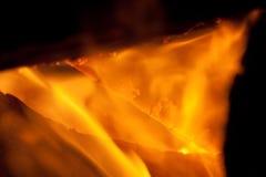 Camp Fire (Closeup). End of Summer Camp Fire (Closeup stock images