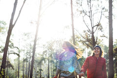 Camp Forest Adventure Travel Relax Concept Photo stock