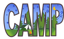CAMP Royalty Free Stock Image