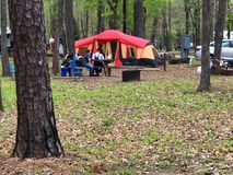 Free Camp Grounds In Piney Woods, Texas Stock Images - 165749594