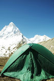 Camp in Himalayan Royalty Free Stock Photography