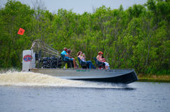 Camp Holly airboat ride St. Johns River in Florida Royalty Free Stock Image