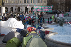 Camp Londres du climat Photo stock
