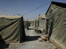 Camp militaire Images libres de droits