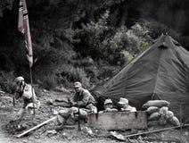 Camp nazi photographie stock
