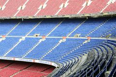 Camp Nou. In Barcelona - Spain Stock Photography