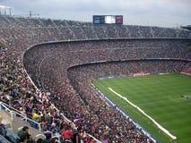Camp Nou Stock Photo