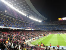 Camp Nou Barcelona Imagen de archivo libre de regalías