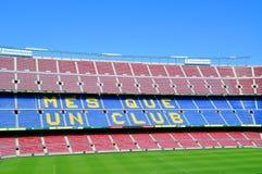 Camp Nou, Barcelona FC Stadium Royalty Free Stock Photo