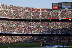 Camp nou Royalty Free Stock Photography