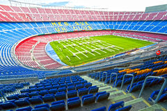 Camp Nou, barcelona, spain. Royalty Free Stock Image