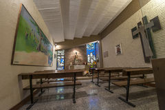 Camp Nou Chapel Stock Photography