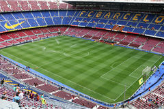 Camp Nou de stade Images libres de droits