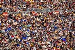 Camp Nou: FC Barcelona Fotografía de archivo libre de regalías