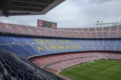 Camp Nou FC Barcelona arkivbilder