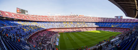 Camp Nou Stock Images
