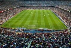 Camp Nou Stadiu. BARCELONA - MAY 23: Camp Nou Stadium on May 23, 2009 in Barcelona, Spain Royalty Free Stock Photography