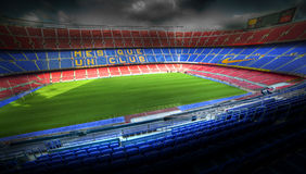The Camp Nou stadium Stock Image