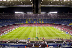 Camp Nou stadium Stock Photo