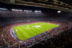 Camp Nou Stadium, Barcelona Royalty Free Stock Photo