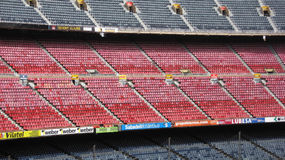 Camp Nou stadium, Barcelona,Spain Royalty Free Stock Images