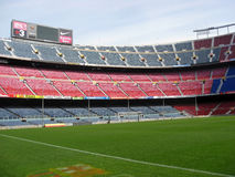 Camp Nou stadium, Barcelona,Spain Royalty Free Stock Image